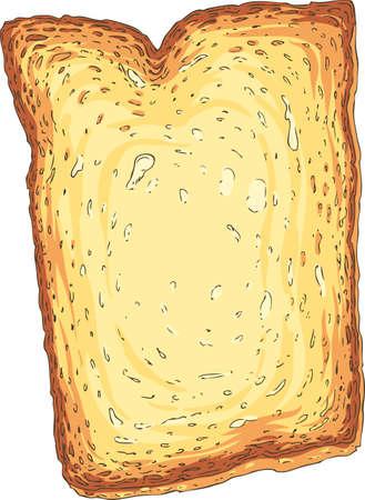 Toast. Toasted Sliced Bread
