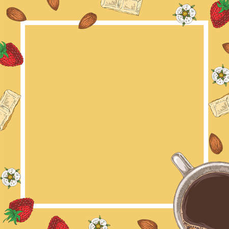 Coffee and Desserts Card or Menu Template
