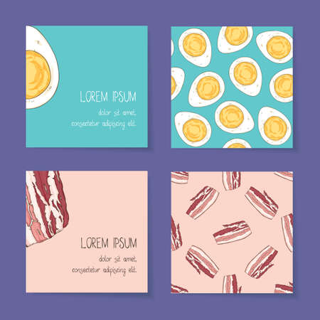 Food Business Cards Template Collection