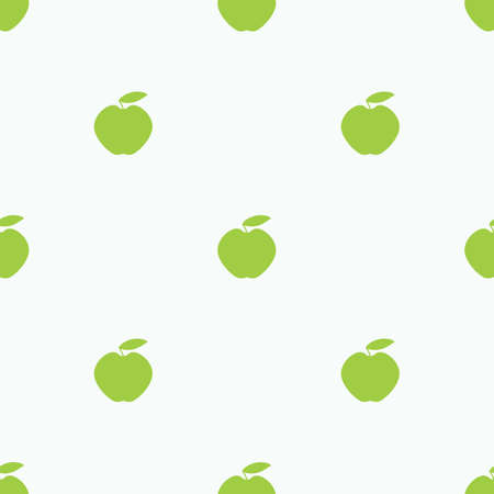 Simple Pattern with Green Apples
