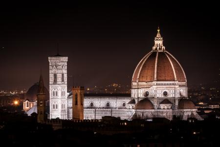 Duomo de Santa Mar�a del Fiore en Florencia, Italia Centro hist�rico de Florencia Editorial