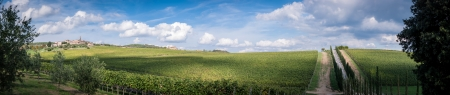 toskana: Tuscany panorama , Chianti region, Italy