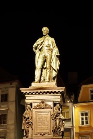 archduke: Statue of Archduke John of Austria -Graz,Austria