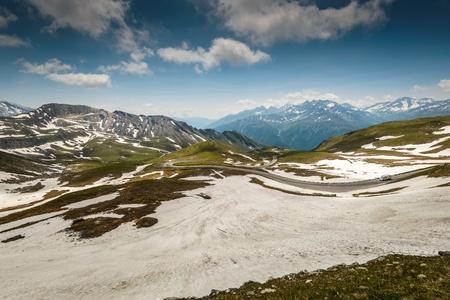 hohe tauern: Alpina road-Grossglockner Hohalpenstrasse  Hohe Tauern National Park, Austria   Stock Photo