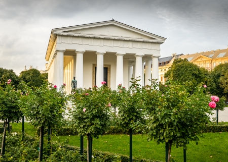The temple of Theseus at Volksgarden park in Vienna