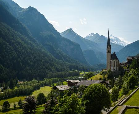 hohe tauern: Heiligenblut am Grossglockner in Hohe Tauern National Park, Austria