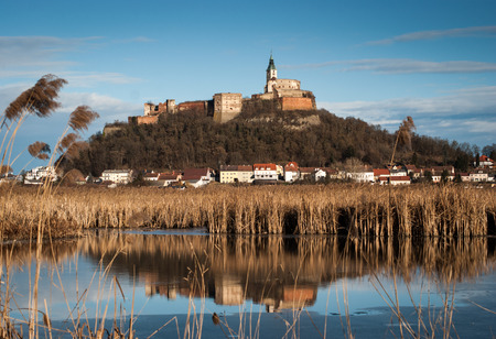 guessing: View of Castle Guessing in Burgenland, Austria Stock Photo