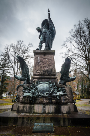 freedom fighter: Memorial of Andreas Hofer folk hero, freedom fighter and Austrian patriot.