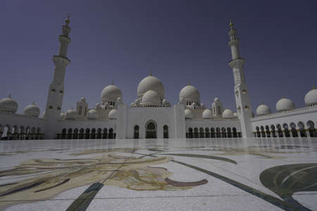 The Sheikh Zayed Grand mosque, Abu Dhabi 新聞圖片