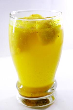 Kanji Wada or Kanji Vada in glass - Indian Snack Chaat