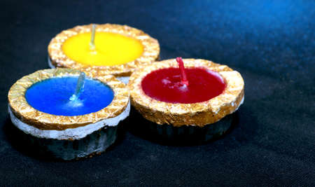 Wax lamps are mostly used in Indian festival Diwali.Diwali decorative wax lamps collection