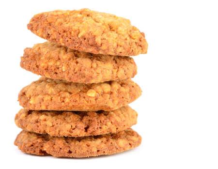 흰색에 고립 된 쿠키 스톡 콘텐츠