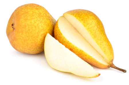 Pears isolated on white Reklamní fotografie
