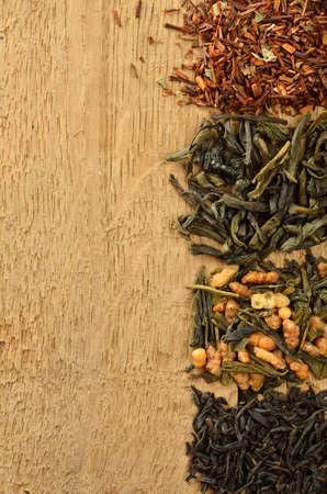 Four heaps of tea