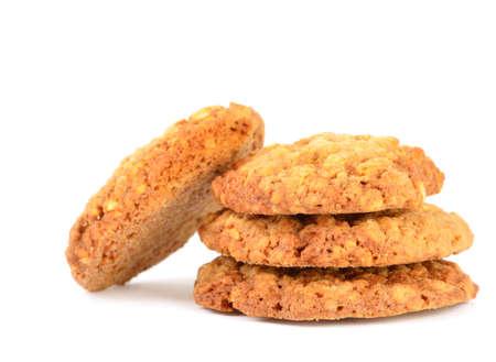 흰색으로 격리 쿠키