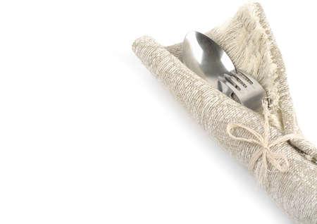 Fork and spoon Reklamní fotografie