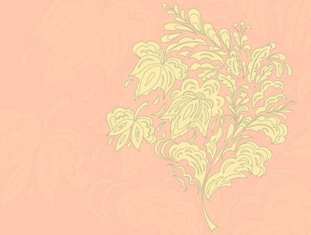 Floral branch Ilustrace