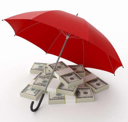 Financial Insurance. Stock Photo - 10432951