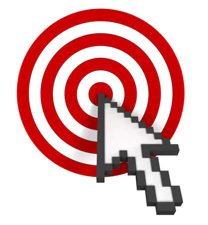 Cursor on Target. Stock Photo - 10432963
