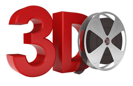 3d Movie. Stock Photo - 10432988