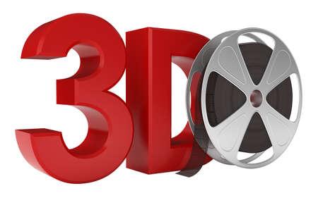 3d Movie. Stock Photo - 10432988