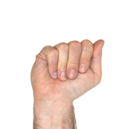 How to sign the letter A using American Sign Language photo
