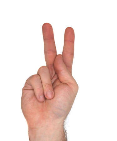 american sign language: How to sign the letter K using American Sign Language