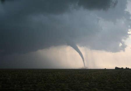tornado: A dangerous tornado in tornado alley