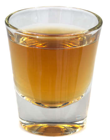 shot: A beautiful picture of a shot of Brandy, Whisey or Scotch!