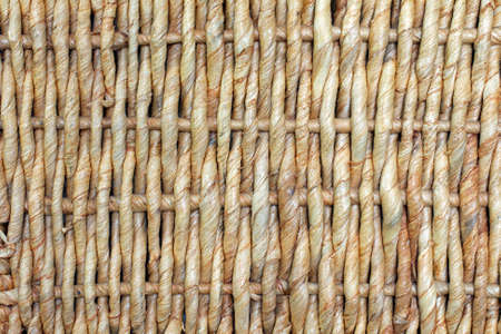 High Resolution macro of a wicker weave photo