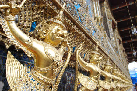 garuda at wat Phra Kaeo Stock Photo
