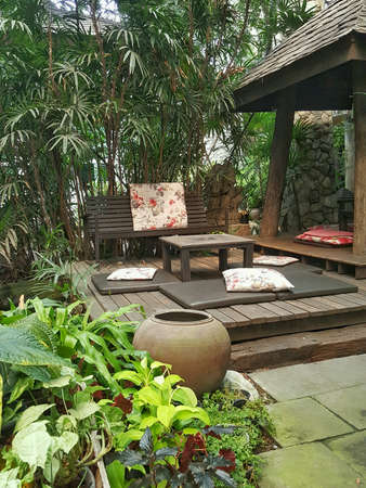 Resort spa relaxation environment