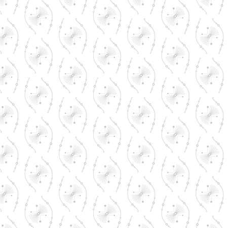 abstract line art texture with pattern Ilustração
