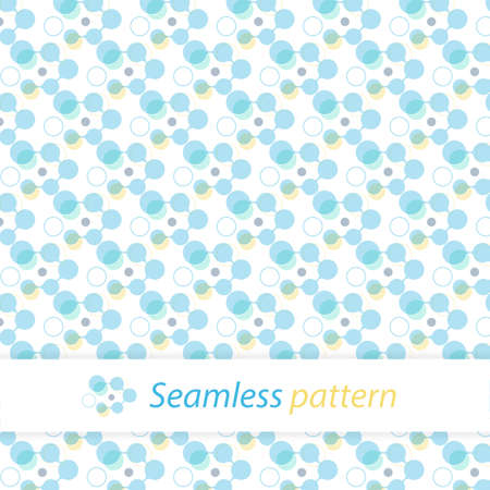 seamless texture design with pattern  blue and yellow color mix