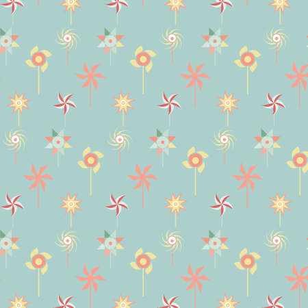 Pastel design wallpaper and texture with pattern  turbine set