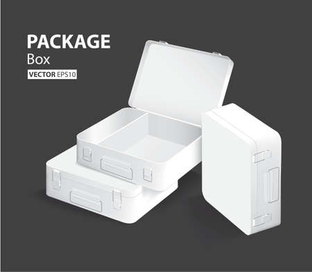 container and packaging box design Banco de Imagens - 61406449