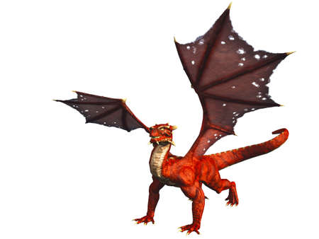 dragoon: Red Dragon Standing4 feet