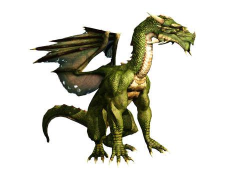drake: Green Dragon Sitting