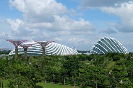 Singapore, Singapore – August 02, 2017 : Green Sky Garden.