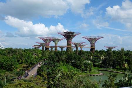 Singapore, Singapore – August 02, 2017 : Sky Garden.