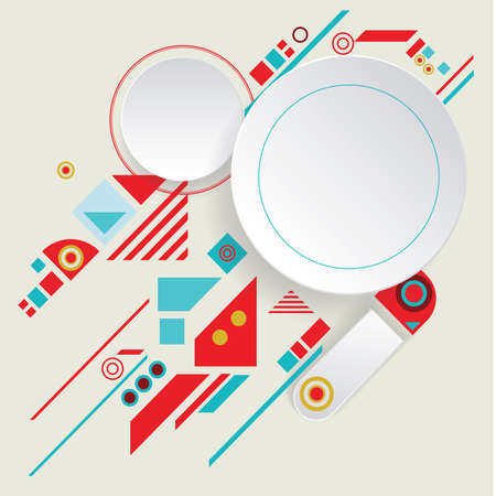 Modern vector aztec frame for material design 矢量图像