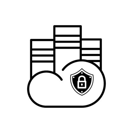 cloudshape: Cloud icon for cloud computing web and app
