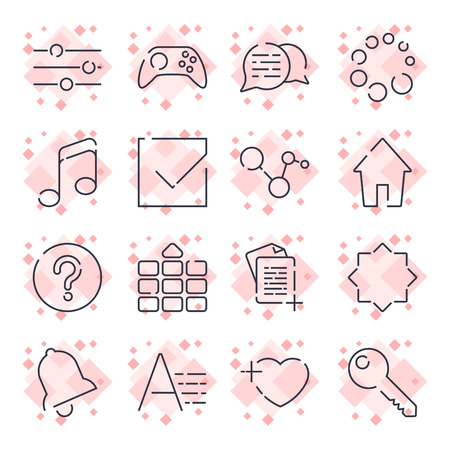 Simple Set of Office Related Vector Line Icons that Contains such Icons as Business Meeting, Workplace, Office Building, Reception Desk and more. Editable Stroke.