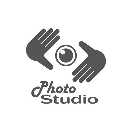 Photography Logo Design Template. Retro Vector Badge. Photo Studio