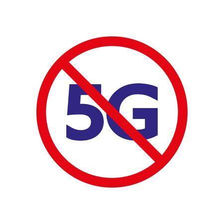 Stop 5G, fifth generation wireless broadband technology.