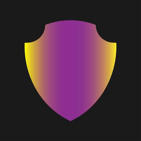 Shield Icon - Vector, Sign and Symbol for Design, Presentation, Website or Apps Elements. EPS 10