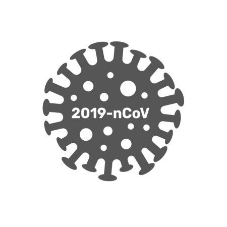 Coronavirus cell, 2019-nCoV. pathogen respiratory coronavirus 2019-nCoV in a world, Dangerous nCoV coronavirus, SARS pandemic risk alert.