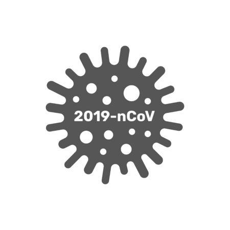 Coronavirus cell, 2019-nCoV. China pathogen respiratory coronavirus 2019-nCoV in a world, Dangerous chinese nCoV coronavirus, SARS pandemic risk alert