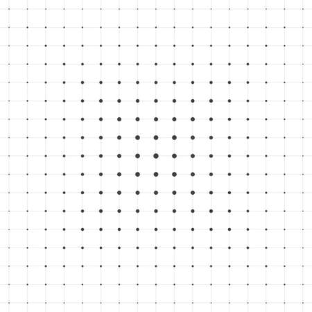 destiny: Vector seamless pattern simple rows of gray dots connected with lines