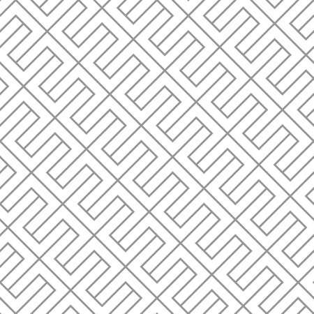 Simple diagonal geometric vector seamless pattern